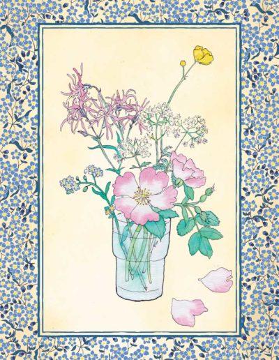 image emblématique collection fleurs